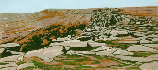 Stanage Walking-the-edge